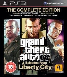 Grand Theft Auto IV GTA Complete PS3