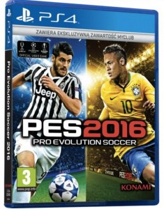 Pro Evolution Soccer 2016 + DLC + Euro  PS4