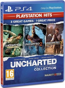 Uncharted Collection Kolekcja PL dubbing PS4