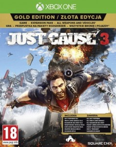 Just Cause 3  Gold Edition PL XBOX ONE