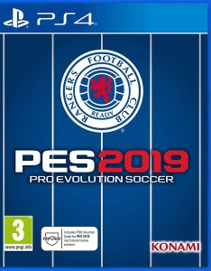 PES 2019 Pro Evolution Soccer Rangers Edition PS4
