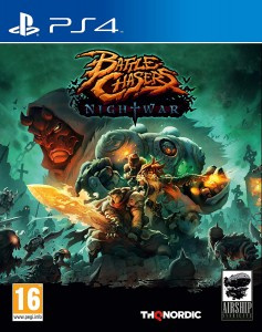 Battle Chasers Nightwar PL PS4