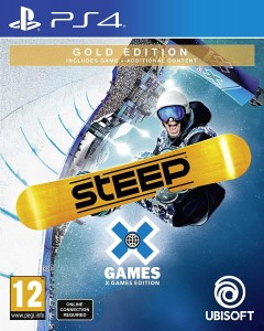 Steep X Games Gold Edition PL PS4