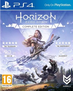 Horizon Zero Dawn Complete Edition PL PS4