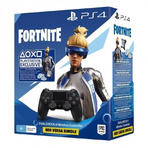Kontroler PAD SONY DualShock 4 V2 + dodatki Fortnite PS4