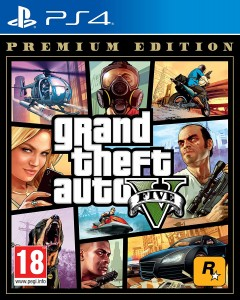 Grand Theft Auto GTA V: Premium Edition PL PS4