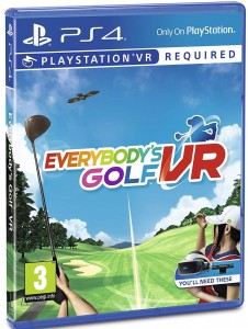 Everybody's Golf VR PL dubbind PS4
