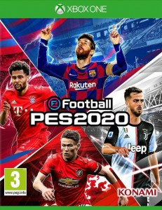 PES 2020 Pro Evolution Soccer + MyClub XBOX ONE