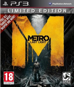 Metro Last Lights Limited Edition PL PS3