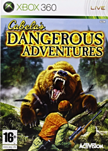 Cabelas Dangerous Adventure XBOX 360