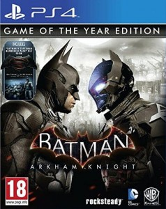 Batman: Arkham Knight PL GOTY PS4