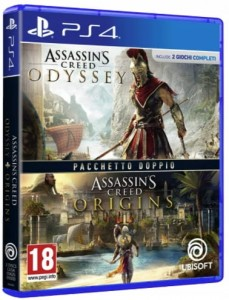 Assassins Creed Origins + Odyssey PL PS4