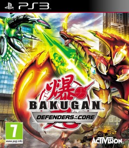 Bakugan: Defenders of the Core PS3