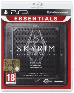 The Skyrim Legendary Edition PS3