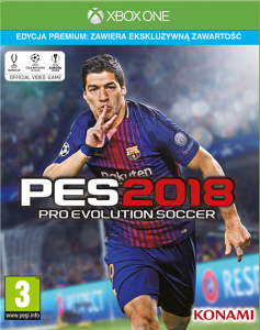 PES 2018 Pro Evolution Soccer Premium XBOX ONE