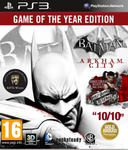 Batman: Arkham City GOTY PL PS3