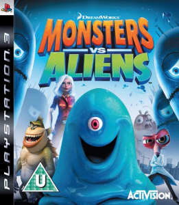Monsters vs. Aliens / Potwory Kontra Obcy PS3